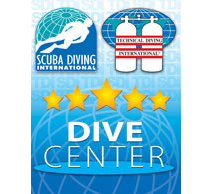 Five Star Dive Center Logo
